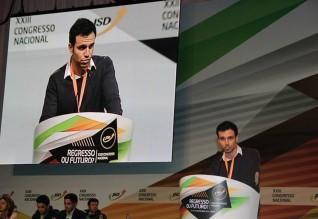 Carlos Gouveia Martins, presidente da Juventude Social Democrata do Algarve.