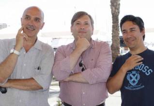 Fernando Lobo, Nuno Campos Inácio e Sérgio Brito