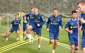 Equipa de futebol dinamarquesa Brøndby IF estagiou no Amendoeira Golf…