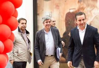 José Apolinário, Mário Centeno e António Eusébio.
