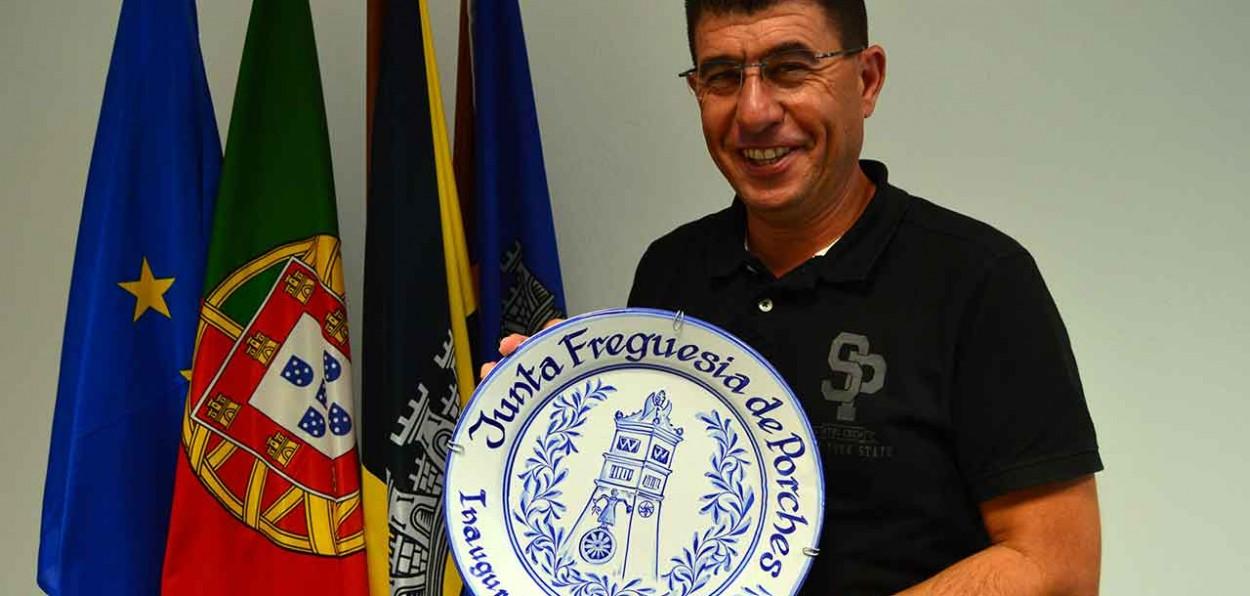 Luís Bentes, presidente da Junta de Freguesia de Porches.