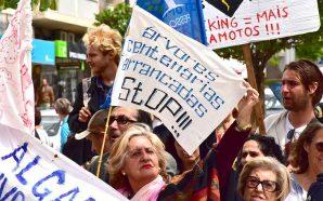 Luta contra o petróleo continua com flash mob