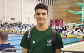 Nadador louletano ganha duas medalhas de ouro