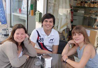 Madalena Tavares, Miguel Santana, Francisca Marques.