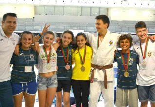 Atletas do UFAD - Judo Alvor.
