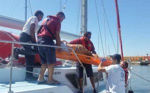 Salva-vidas de Ferragudo resgata cidadão inglês de veleiro em Portimão