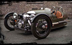 Um Morgan de três rodas