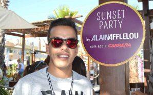 Alain Afflelou festejou verão no NoSoloÁgua