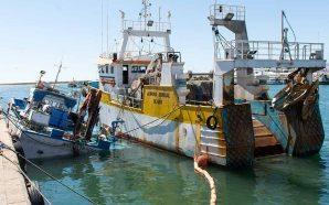 Arrastão quase provoca naufrágio no porto de pesca de Olhão