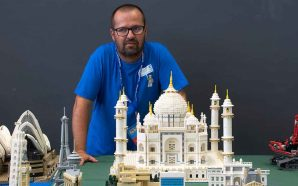Paulo Tavares, mestre portimonense da construção em Lego