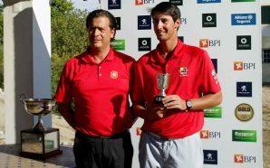 Tomás Melo Gouveia ganhou Taça da Federação de Golfe