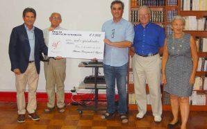 Alliance Française de l'Algarve entregou donativo à Almargem