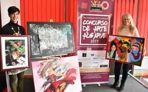 Alunos de artes do Algarve brilham no concurso da Sovereign Art…