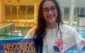Beatriz Viegas bate record nacional júnior