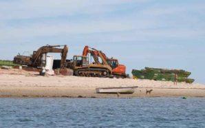 SOS RIA Formosa recusa responsabilidades sobre maquinaria pesada no Farol…