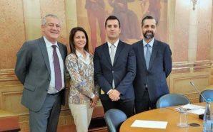 Bruno Sousa Costa recebido na Assembleia da República