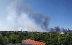 Incêndio em Quarteira