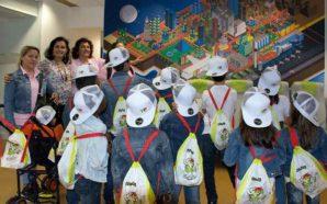 TAP ofereceu batismo de voo a crianças do Refúgio Aboim…
