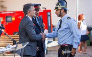 Bruno Santos é o novo 2º comandante dos Bombeiros de…