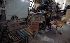 Tipografia União será Museu de Imprensa em Faro