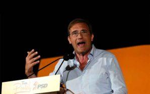 Incêndios dominaram discurso de Passos Coelho no Pontal