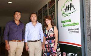 Vítor Guerreiro inaugura sede de candidatura em São Brás