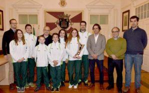 Loulé homenageou atletas Mafalda Brás e Vera Cordeiro