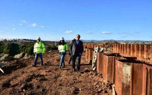 Obra da ETAR de Faro/Olhão está 71 por cento concluída
