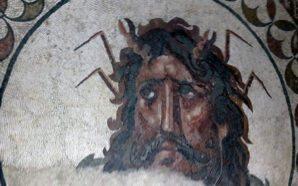 Mosaico romano do Deus Oceano já é Tesouro Nacional