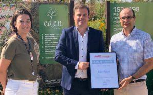Eden Resort recebe prémio de qualidade pelos utilizadores da Jet2