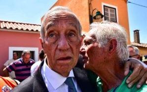 Marcelo em Monchique consolou mas pouco