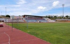 Estádio Municipal de Albufeira recebe nova pista de tartan