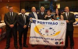 Portimão recebe bandeira da Cidade Europeia do Desporto