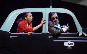 Zé Manel Taxista à bóia em Faro