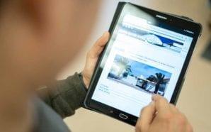 Olhão quer reduzir peso das mochilas oferecendo tablets aos alunos