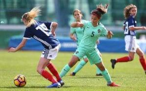Futebolista algarvia estreou-se na seleção nacional feminina de sub-16 com…