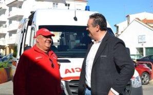 Câmara de Lagoa oferece nova ambulância aos Bombeiros