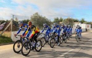 Melhor equipa de ciclismo do mundo em 2018 estagiou em…