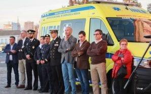Cruz Lusa recebeu nova ambulância «topo de gama» para o…