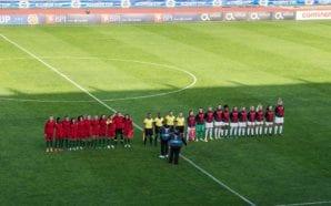 Portuguesas marcaram primeiro mas perderam por 3-1 frente à Suiça