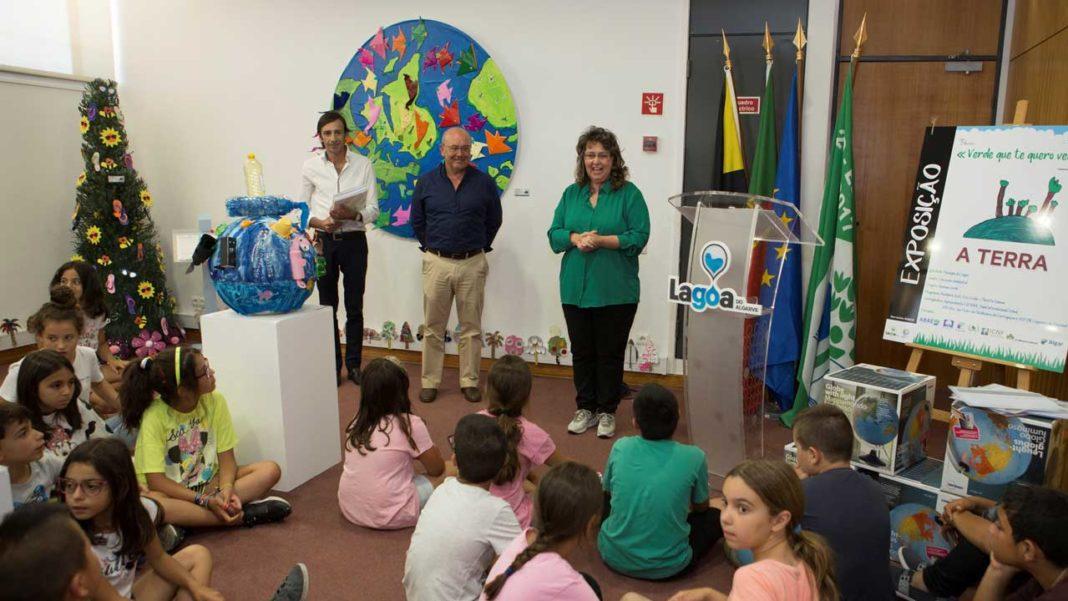 Lagoa inaugura exposição de alunos sobre o ambiente