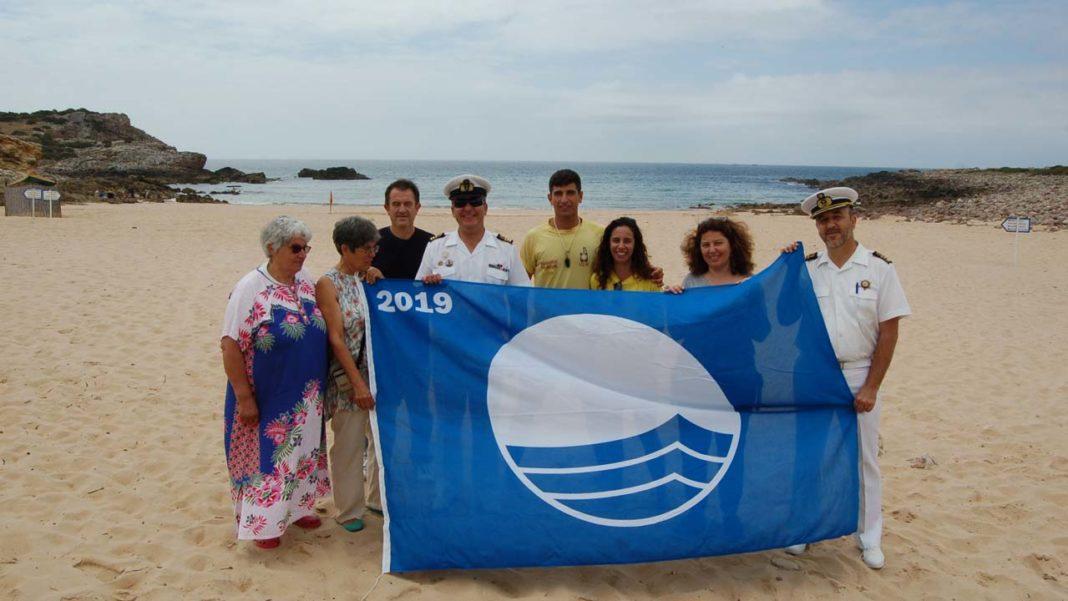 Praias de Vila do Bispo com Bandeira Azul