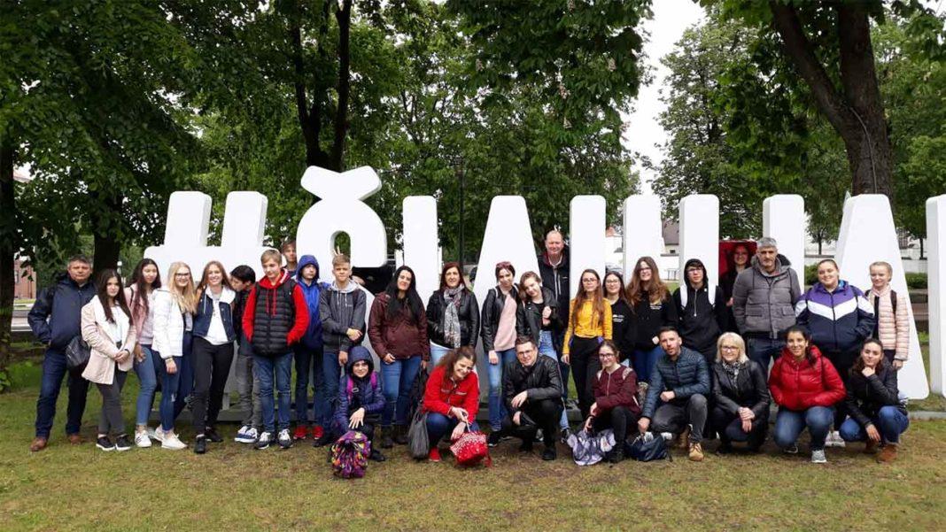Alunos de Olhão visitam Lituânia