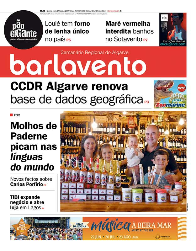 Barlavento Semanário Regional do Algarve 2163 jornal edição em papel