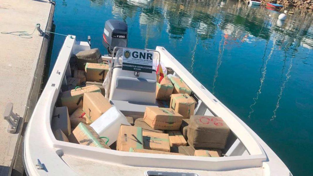 GNR intercetou embarcação no Guadiana