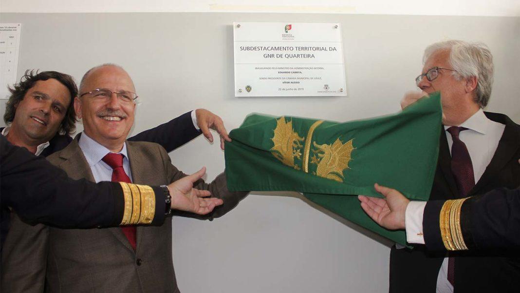 inauguração do novo posto do Subdestacamento Territorial da Guarda Nacional Republicana (GNR) de Quarteira