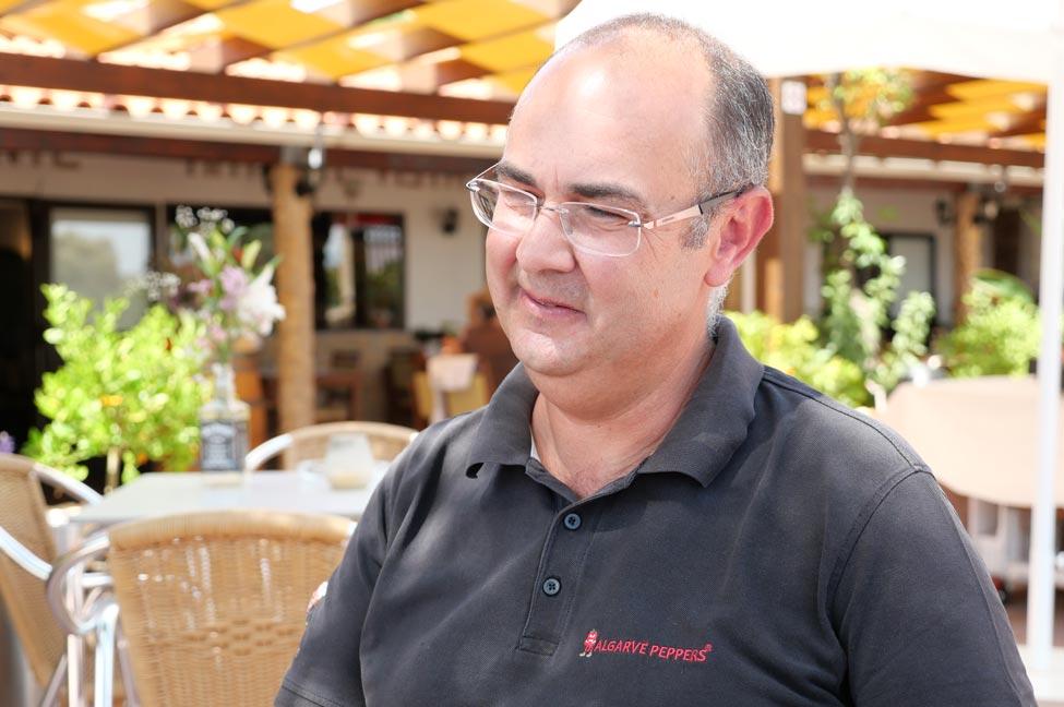 Cristiano Cipriano, da Algarve Peppers