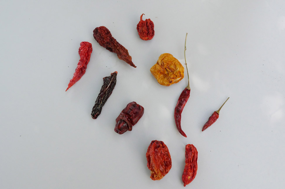 Malaguetas secas da Algarve Peppers