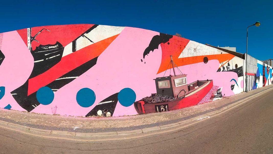 Sciaena deixa em Faro obra do artista Tiago Hesp