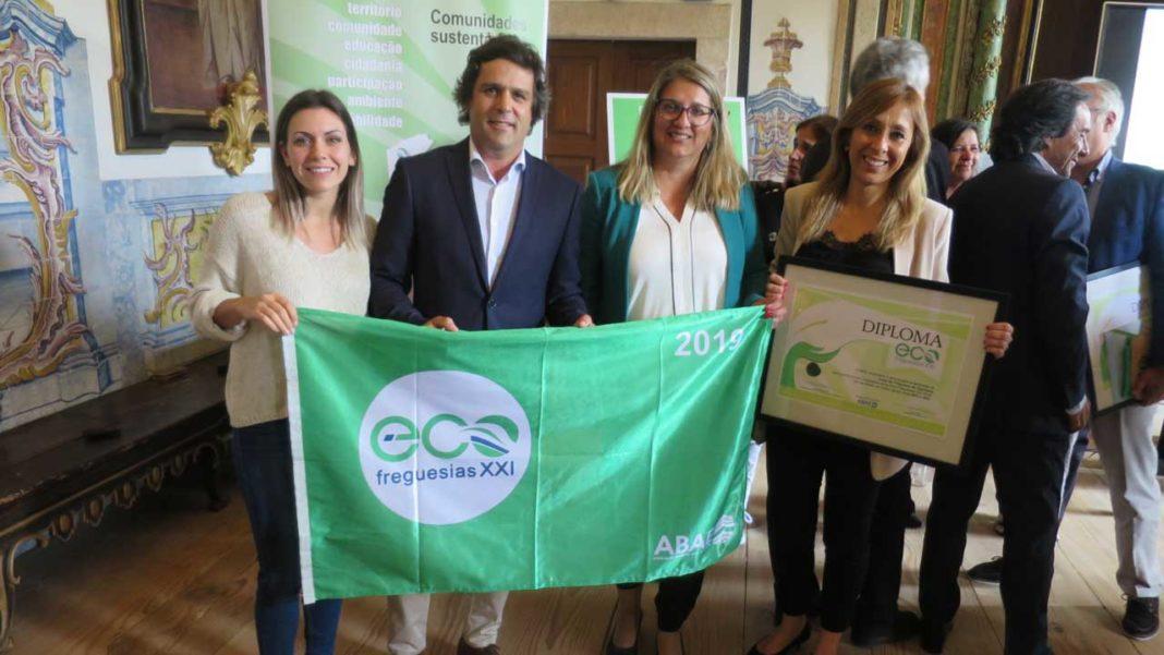 Quarteira recebe galardão Eco-Freguesia XXI 2019